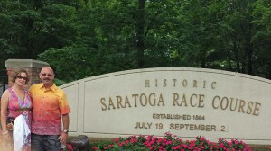 With Donna at Saratoga