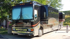 Royale coach built on a Prevost chassis