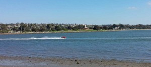 Jet ski on Mission Bay