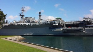 USS Midway midship