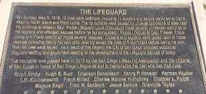 Lifeguard plaque