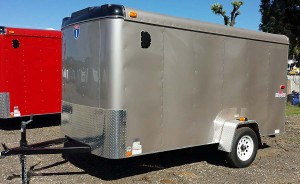 Our new 6 x 12 Interstate Loadrunner trailer