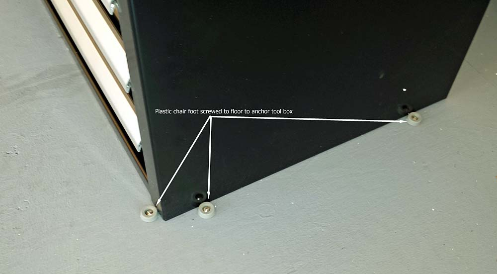 how to hold subwoofer box in place