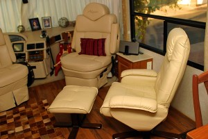 Co-pilots seat and Euro recliner