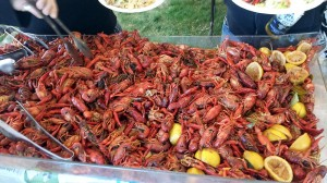 Crawfish ready to serve
