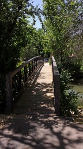 Bridge on the Jordan River Trail
