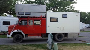 Mercedes Benz RV conversion