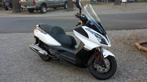 Kymco Downtown 300i all clean again