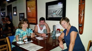 Carole, Jim and Donna at the Offshore Grill and Tavern