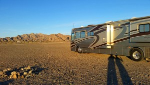 Boondocking at Picacho