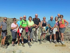 Orangewood Shadows hiking group