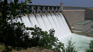 Spillway at Table Rock Dam