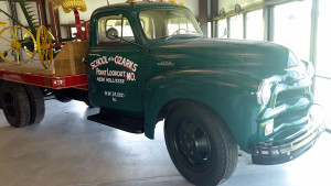 1954 Chevrolet truck used by the college