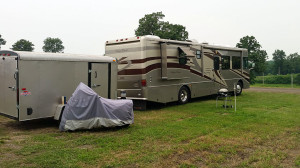 Our site at the fairgrounds