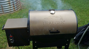 Heating up the Traeger