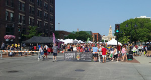 Entrance to the farmers' market