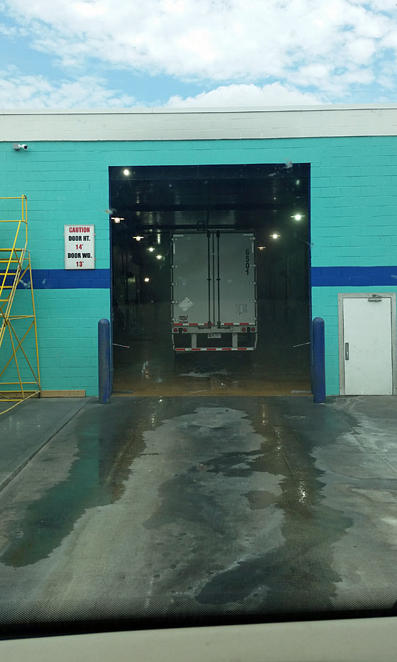 blue beacon truck wash application