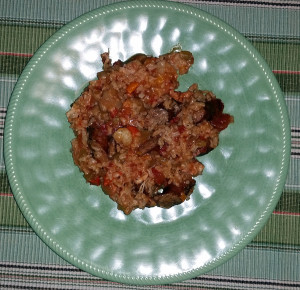 Jambalaya from the slow cooker