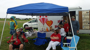 Tailgating at the Balloon Fiesta Park
