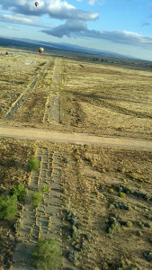 Abandoned runway - old airport was deeded to the Indians
