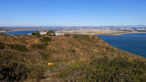 View toward North Island Naval Air Station