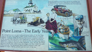 Interesting facts about early days on Point Loma