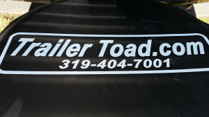 Trailer Toad spare tire and cover