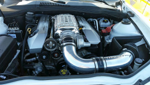 Supercharged Hennessey LS3 motor
