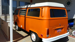 Early 70s VW type 2 camper