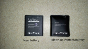 New Beltron branded battery pack