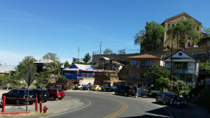 Eclectic mix of buildings in Jerome