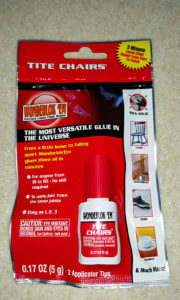 Tite Chairs adhesive