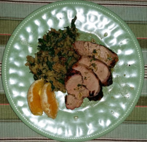 Mojo marinade pork tenderloin with XXX hash