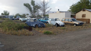 Old cars at this place - a couple of VW Beetles and a Ford Pinto Pony