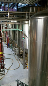 Fermenters and bright tanks