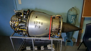 Axial flow jet engine