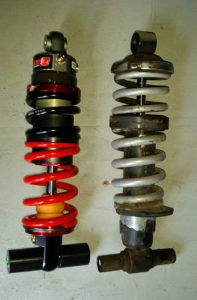 Elka compared to the stock suspension