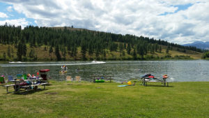 Pearrygin Lake at west campground