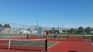 Pickleball courts in East Wenatchee