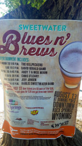 Blues 'N Brews line-up
