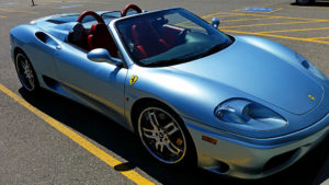 Ferrari F360 Modena in the Sierra Trading Post lot