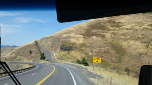 Runaway truck ramp with deep gravel