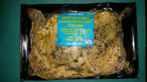 Trader Joe's spatchcocked lemon rosemary chicken