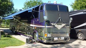 Marathon coach built on a Prevost chassis
