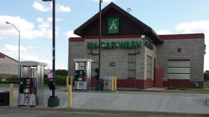 RV wash and gas pumps
