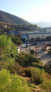 Sycuan Casino viewed from the Bradley 2 lot