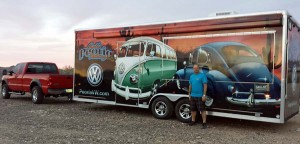 Keith and the VW Driver Gear Trailer