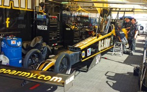 Tony Schumacher's ride