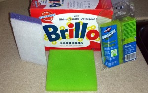 Brillo makes more than just steel wool cleaning pads.