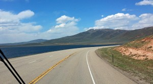 US40 at Strawberry Reservoir